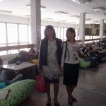 У зоні відпочинку студентів Прешовського університету. Замість стільців – величезні подушки!!! Can you imagine that?! )))